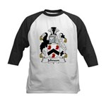 Johnson Family Crest Kids Baseball Jersey