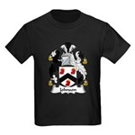 Johnson Family Crest Kids Dark T-Shirt