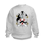 Johnson Family Crest Kids Sweatshirt