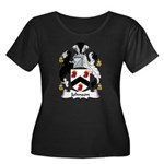 Johnson Family Crest Women's Plus Size Scoop Neck
