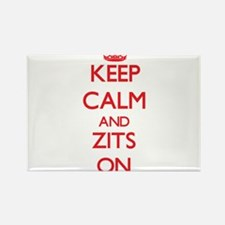 Keep Calm and Zits ON Magnets