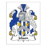 Jobson Family Crest Small Poster