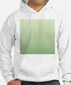 mint green ombre Hoodie