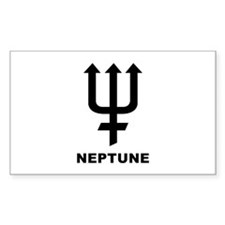 Neptune Rectangle Decal