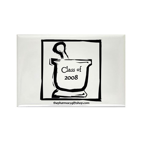 Class of 2008 Rectangle Magnet (100 pack)