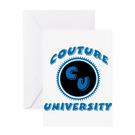 Couture University Greeting Card