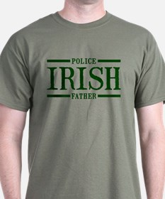 Irish Police Father T-Shirt