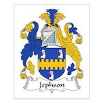 Jephson Family Crest Small Poster