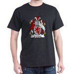 Jennings Family Crest Dark T-Shirt