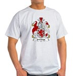 Jennings Family Crest Light T-Shirt