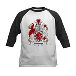 Jennings Family Crest Kids Baseball Jersey