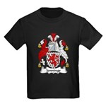Jennings Family Crest Kids Dark T-Shirt
