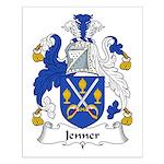 Jenner Family Crest Small Poster