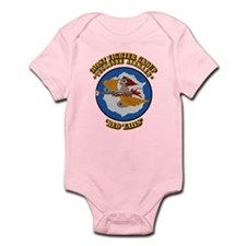WWII Tuskegee Airmae Red Tail 301s Infant Bodysuit