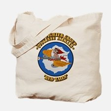 WWII Tuskegee Airmae Red Tail 301st FG Fi Tote Bag
