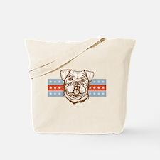 Alapaha Blue Blood Bulldog Tote Bag