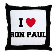 Cute Ron paul 08 Throw Pillow