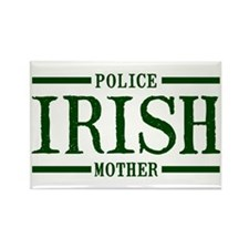 Irish Police Mother Rectangle Magnet