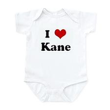 I Love Kane Infant Bodysuit