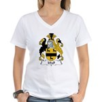 Jekyll Family Crest Women's V-Neck T-Shirt