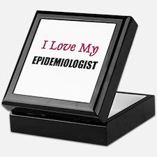I Love My EPIDEMIOLOGIST Keepsake Box