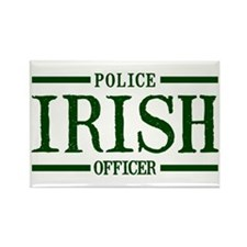 Irish Police Officer Rectangle Magnet
