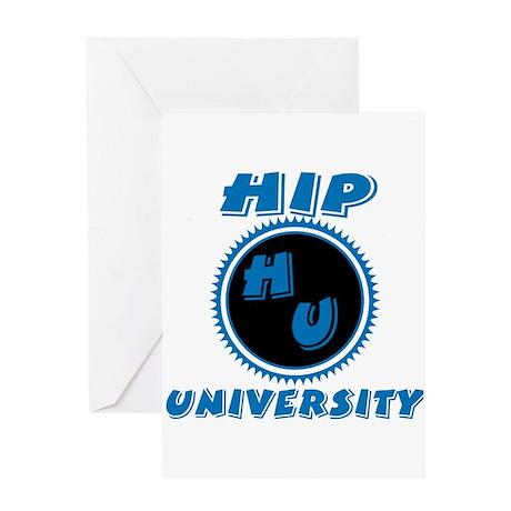 Hip University Greeting Card