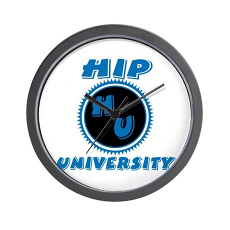 Hip University Wall Clock