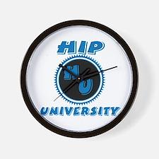 Hip University Wall Clock