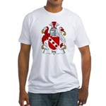 Jay Family Crest Fitted T-Shirt