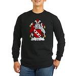 Jay Family Crest Long Sleeve Dark T-Shirt