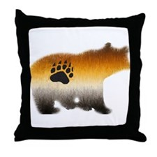 BEAR PRIDE FURRY BEAR 2 Throw Pillow