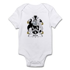 Jarvis Family Crest Infant Bodysuit