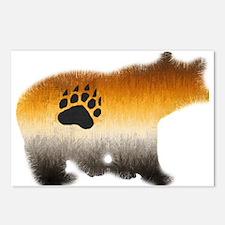 BEAR PRIDE FURRY BEAR 2 Postcards (Package of 8)