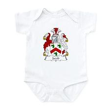 Jacob Family Crest Infant Bodysuit