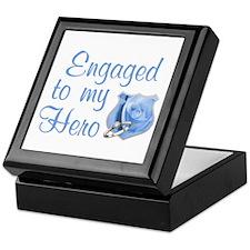 Engaged Police Keepsake Box