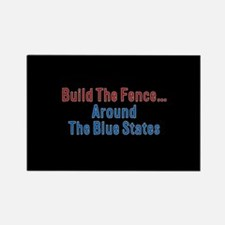 Build The Fence...Around The Blue States Rectangle