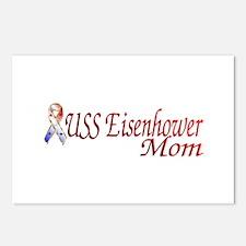 uss eisenhower mom Postcards (Package of 8)