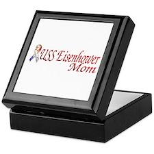 uss eisenhower mom Keepsake Box