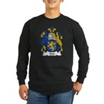 Ivan Family Crest Long Sleeve Dark T-Shirt