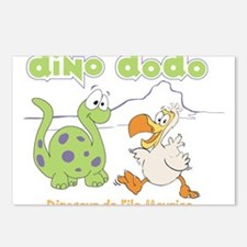 Dino Dodo Postcards (Package of 8)