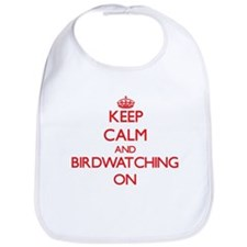 Keep Calm and Birdwatching ON Bib