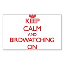 Keep Calm and Birdwatching ON Decal