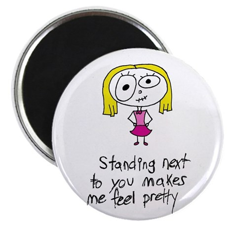 "WildEyedPixie Pretty 2.25"" Magnet (10 pack)"