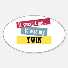 Twin Oval Decal