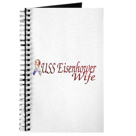 uss eisenhower wife Journal