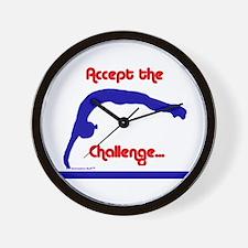 Gymnastics Clock - Challenge