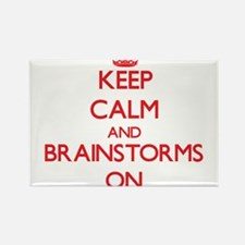 Keep Calm and Brainstorms ON Magnets