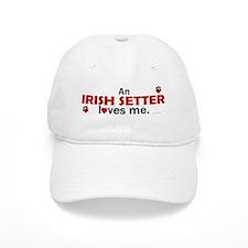 An Irish Setter Loves Me Baseball Cap