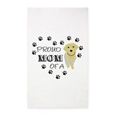 Proud mom of a Pup Area Rug
